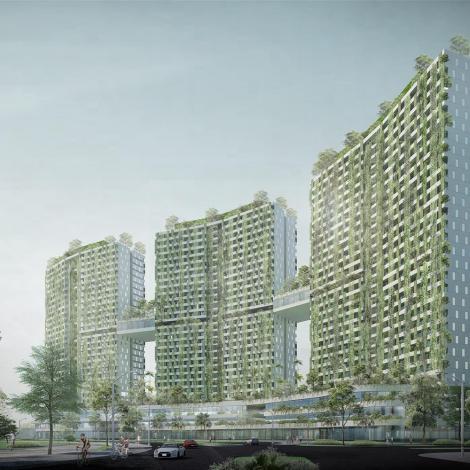 Thủ Thiêm Green Jewel Apartment 35 tầng