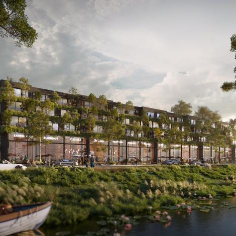 Ecopark - Khu nhà phố vườn Haven Park